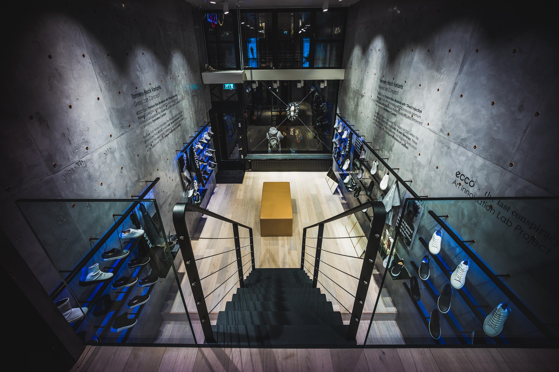 erstklassiges echtes High Fashion Volumen groß Innovation Lab ECCO › W-21
