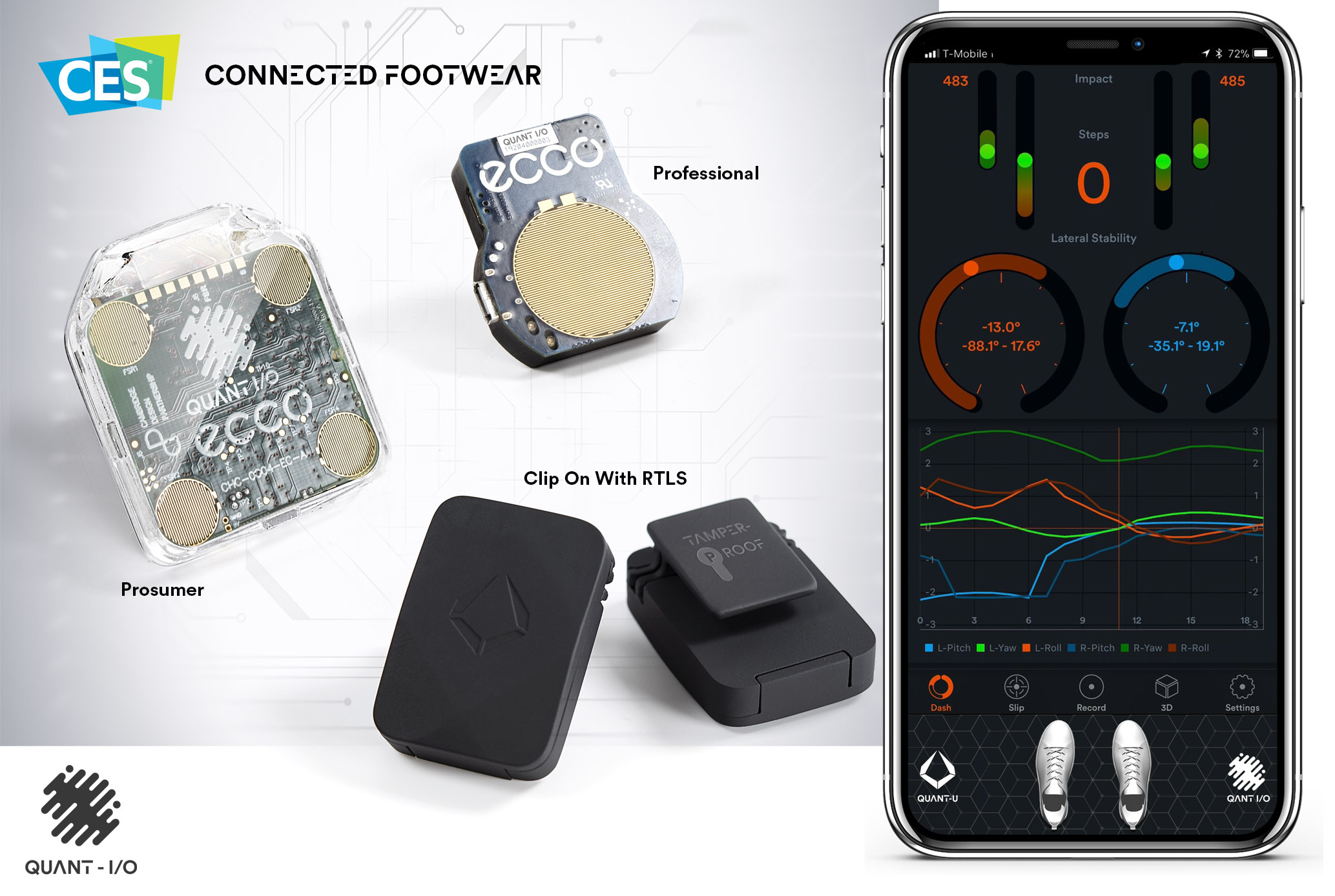 Quant-U PRO Ultimate Digital Wearables